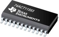 Datasheet Texas Instruments 74ACT11593DW