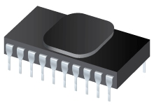 High-Temperature 24-Bit ADC, 8-Ch, PGA 1:128, 50/60Hz Notch - ADS1243-HT
