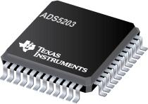 Datasheet Texas Instruments ADS5203IPFB