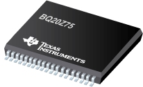 SBS 1.1-Compliant Gas Gauge and Protection-Enabled IC with Impedance Track™ - BQ20Z75