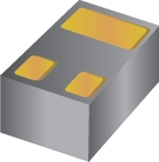 30-V, N channel NexFET™ power MOSFET, single LGA 1 mm x 0.6 mm, 117 mOhm, gate ESD protection
