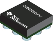 Datasheet Texas Instruments CSD25201W15