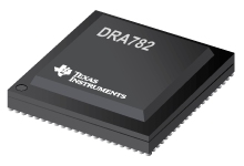 SoC processor w/ 2x 500 MHz C66x DSP and 2 Dual Arm Cortex-M4 for Audio Amplifier - DRA782