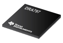 800 MHz Arm Cortex-A15 SoC processor w/ 750 MHz C66x DSP for audio amplifier - DRA797
