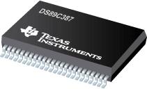 Datasheet Texas Instruments DS89C387TMEA