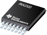 Datasheet Texas Instruments INA2322EA/250G4