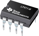 Low Offset, Low Drift JFET Input Operational Amplifier - LF411-N