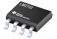 Datasheet Texas Instruments LM2722MX/NOPB
