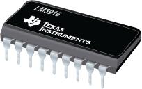Dot/Bar Display Driver - LM3916
