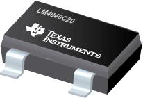 Datasheet Texas Instruments LM4040C20ILP