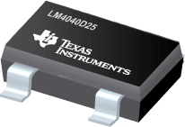 Datasheet Texas Instruments LM4040D25ILPE3