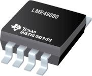 Dual JFET Input Audio Operational Amplifier - LME49880