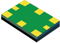 Ultra-Low Jitter Fully Programmable Oscillator, Integrated EEPROM, +/-50ppm - LMK61E2