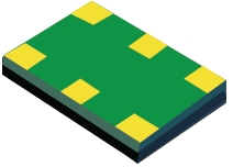 200-MHz, LVDS ±50 ppm, high-performance, low-jitter, standard oscillator