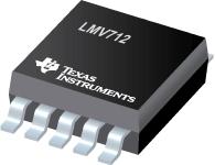 Datasheet Texas Instruments LMV712IDGSR