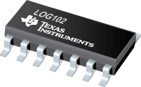 Datasheet Texas Instruments LOG102AIDR