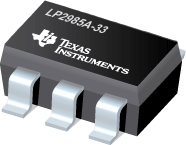 Single Output LDO, 150mA, Fixed(3.3V), 1.0% Tolerance, Low Quiescent Current, Low Noise - LP2985A-33