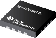 MSP430™ Ultra-Low-Power Microcontrollers for Automotive Applications - MSP430G2001-Q1