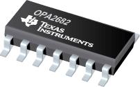 Datasheet Texas Instruments OPA2682N/2K5
