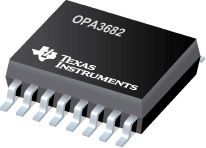 SpeedPlus(TM) Triple, Wideband, Fixed Gain Buffer Amplifier With Disable - OPA3682