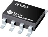 Datasheet Texas Instruments OPA640U/2K5