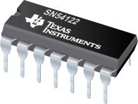 Datasheet Texas Instruments SN54122J