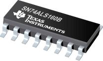 Datasheet Texas Instruments SN74ALS160B