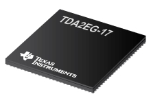 SoC processors with graphics and video acceleration for ADAS applications (17mm package)