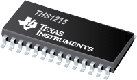 12-Bit, 15 MSPS ADC w/ Low Power and excellent ENOB - THS1215