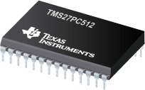 Datasheet Texas Instruments TMS27PC512-150NL
