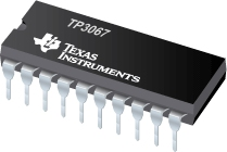 Enhanced Serial Interface CMOS CODEC/Filter COMBO - TP3067