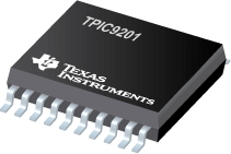 Datasheet Texas Instruments TPIC9201PWPR