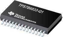 Automotive 500mA 40V High-Voltage Ultralow-Quiescent-Current Watchdog LDO - TPS7B6833-Q1