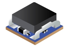 4.5V to 17V Input, 0.6V-10V Output, 8A Power Module in Compact 7.5x7.5mm Footprint