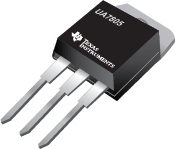 3 Pin 1.5A Fixed 5V Positive Voltage Regulator - UA7805