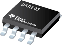 3/8 Pin 100mA Fixed 5V Positive Voltage Regulator - UA78L05