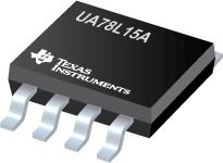 3/8 Pin 100mA Fixed 15V Positive Voltage Regulator - UA78L15A
