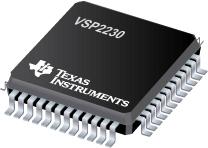 Datasheet Texas Instruments VSP2230YG4