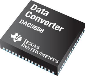 Высокопроизводительный цифро-аналоговый конвертер для коммуникационных сетей третьего и четвертого поколений от Texas Instruments.
