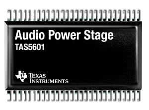 Первый каскад усилителя мощности замкнутого типа с PWM–входом от Texas Instruments.