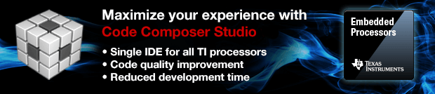 Download the latest version of Code Composer Studio