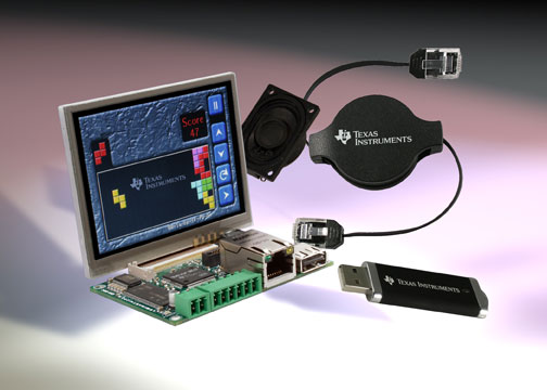 Stellaris SBC Intelligent Display Kit - TI