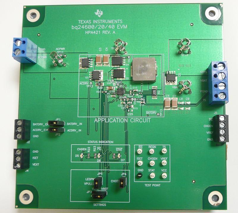 Lithium Ion Battery >> BQ24600EVM Evaluation Module for BQ24600 Multi Cell ...
