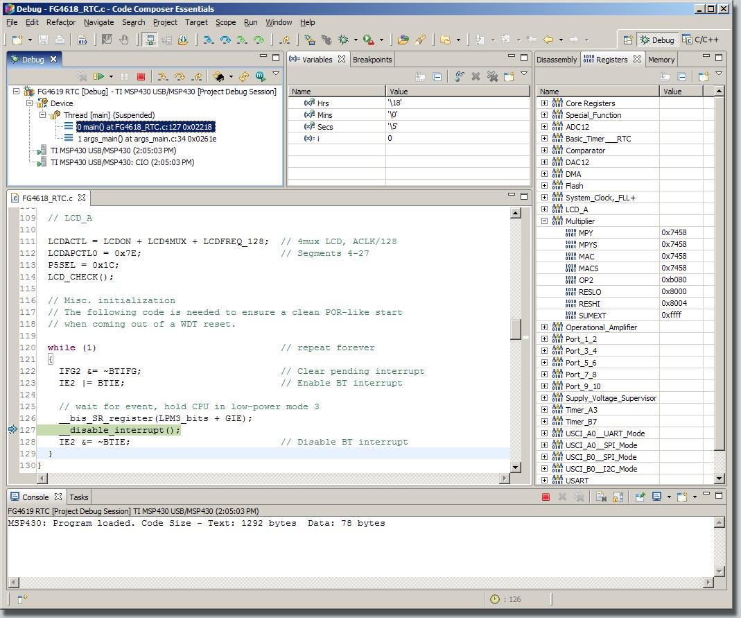 MSP-CCE430PRO Code Composer Essentials Professional v3 1 SR1