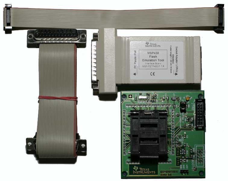 MSP430F13x/14x/15x/16x Flash Emulation Tool - MSP-FET430P140