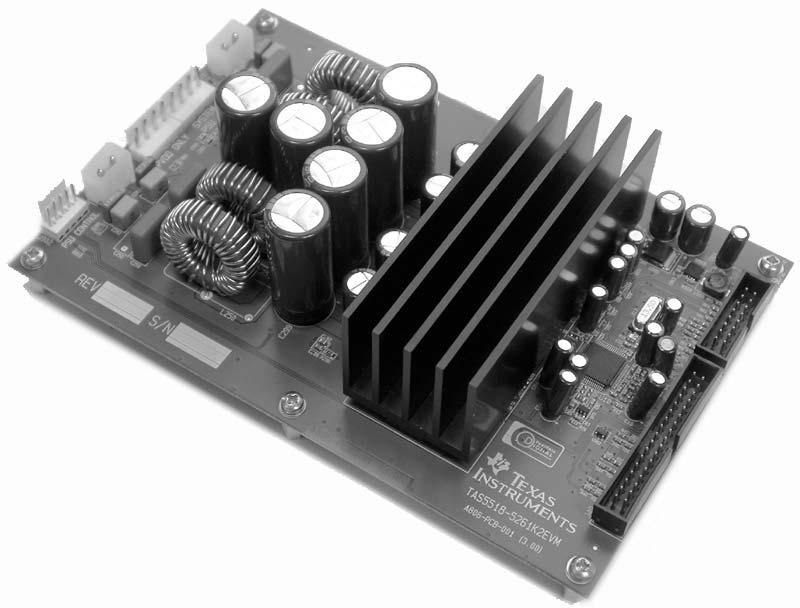 tas5342la nuovo amplificatore digitale Tas5518-5261k2evm-800