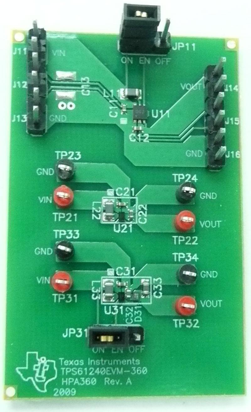 Tps61240evm 360 Tps61240evm 360 Evaluation Module Ti Com