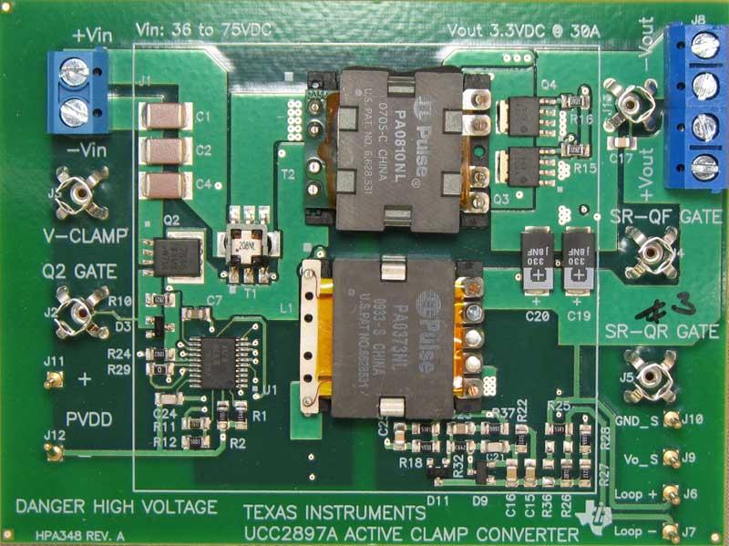 Ucc2897aevm Ucc2897a Evaluation Module Ti Com