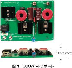 図4:300W PFCボード