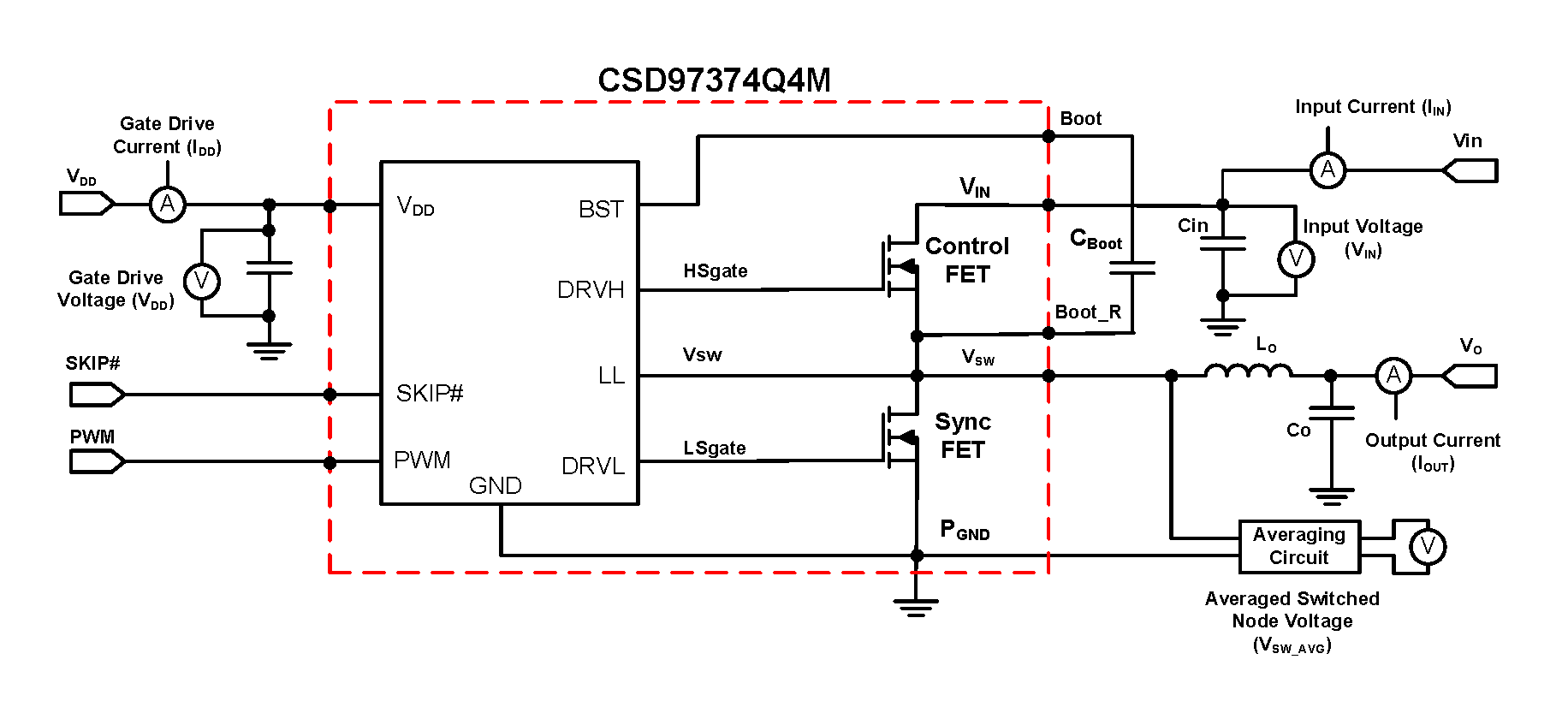 CSD97374Q4M CSD97374_Power_Loss_Test_Circuit.png